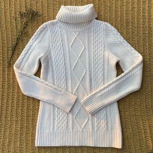 L.L. Bean Cream Sweater